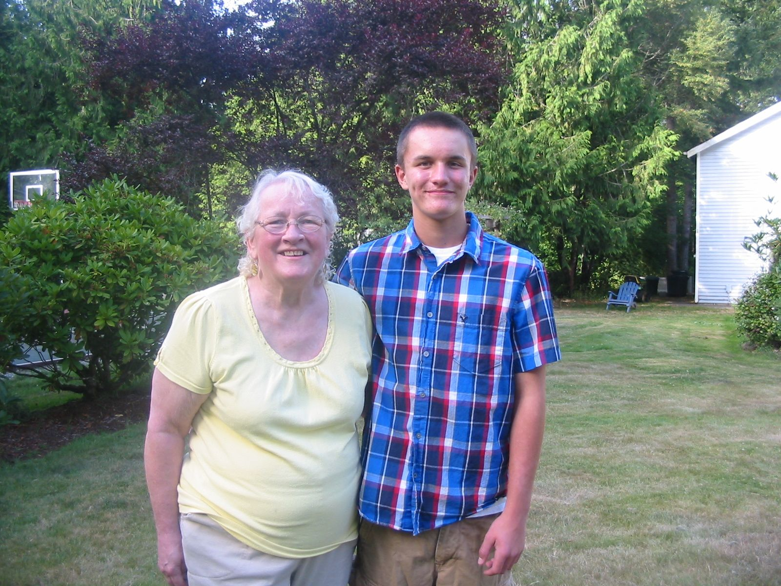 Nick and Grandma Carole 7/26/11